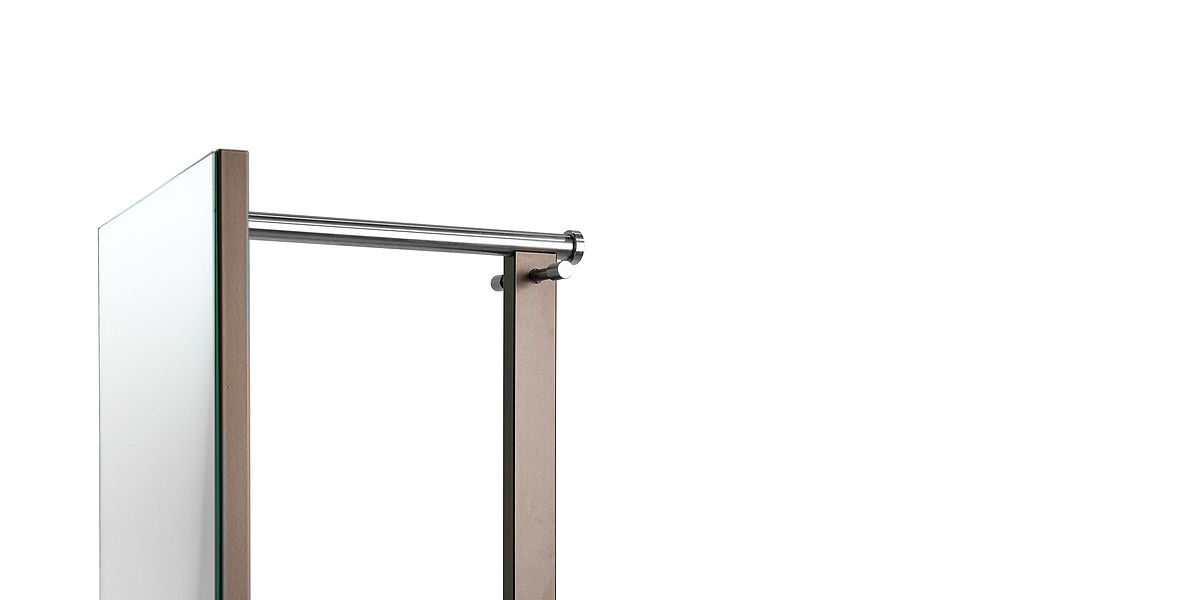 D-TEC | TOP | TSR 33 | stand mirror with coat rail and hooks
