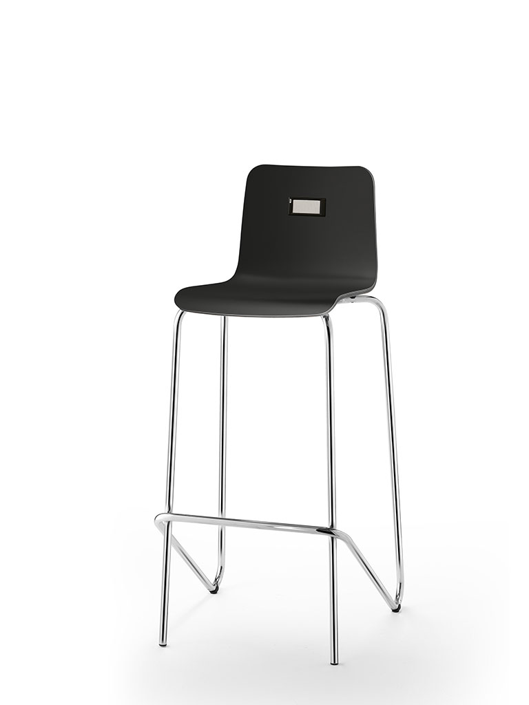 no.e | digitales Informationssystem | am logochair Barhocker