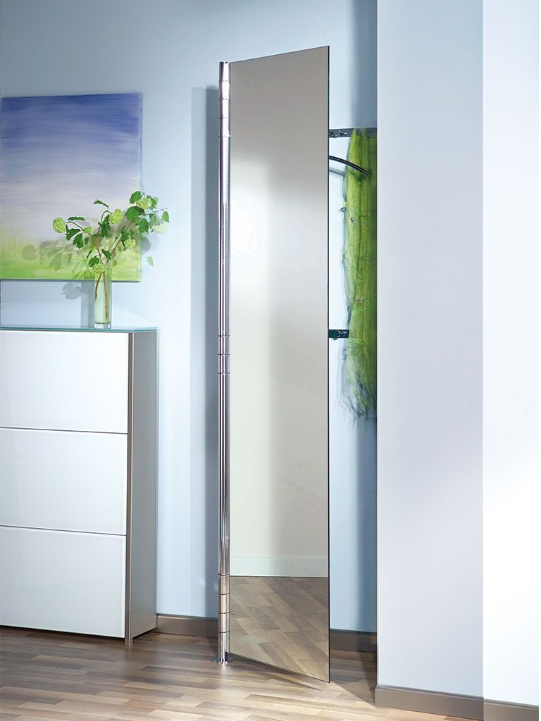 D-TEC | ALBA 2 | coat rack system | half-open door