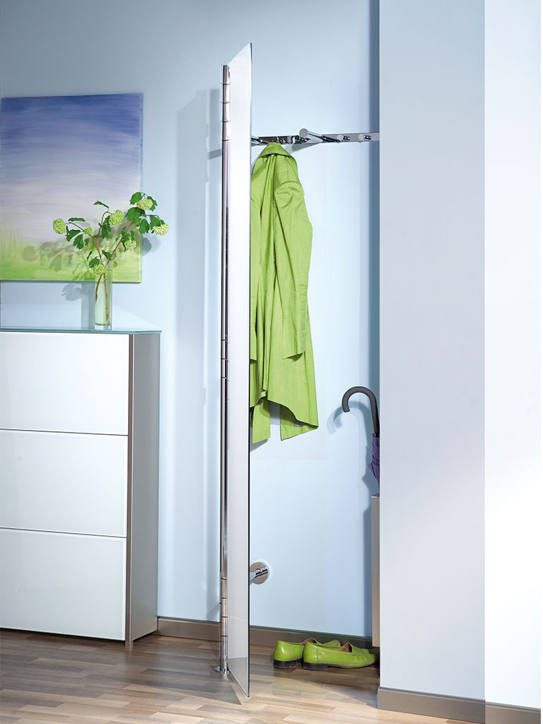 D-TEC | ALBA 2 | coat rack system | open door