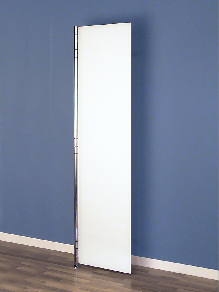 D-TEC | ALBA 2 | coat rack system | closed door | ultrawhite