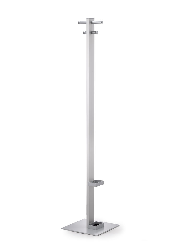 Tenero 3361 | coat rack | umbrella fitting | silver matte finish